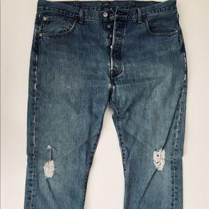 Vintage Levi's 501 Button-Ups
